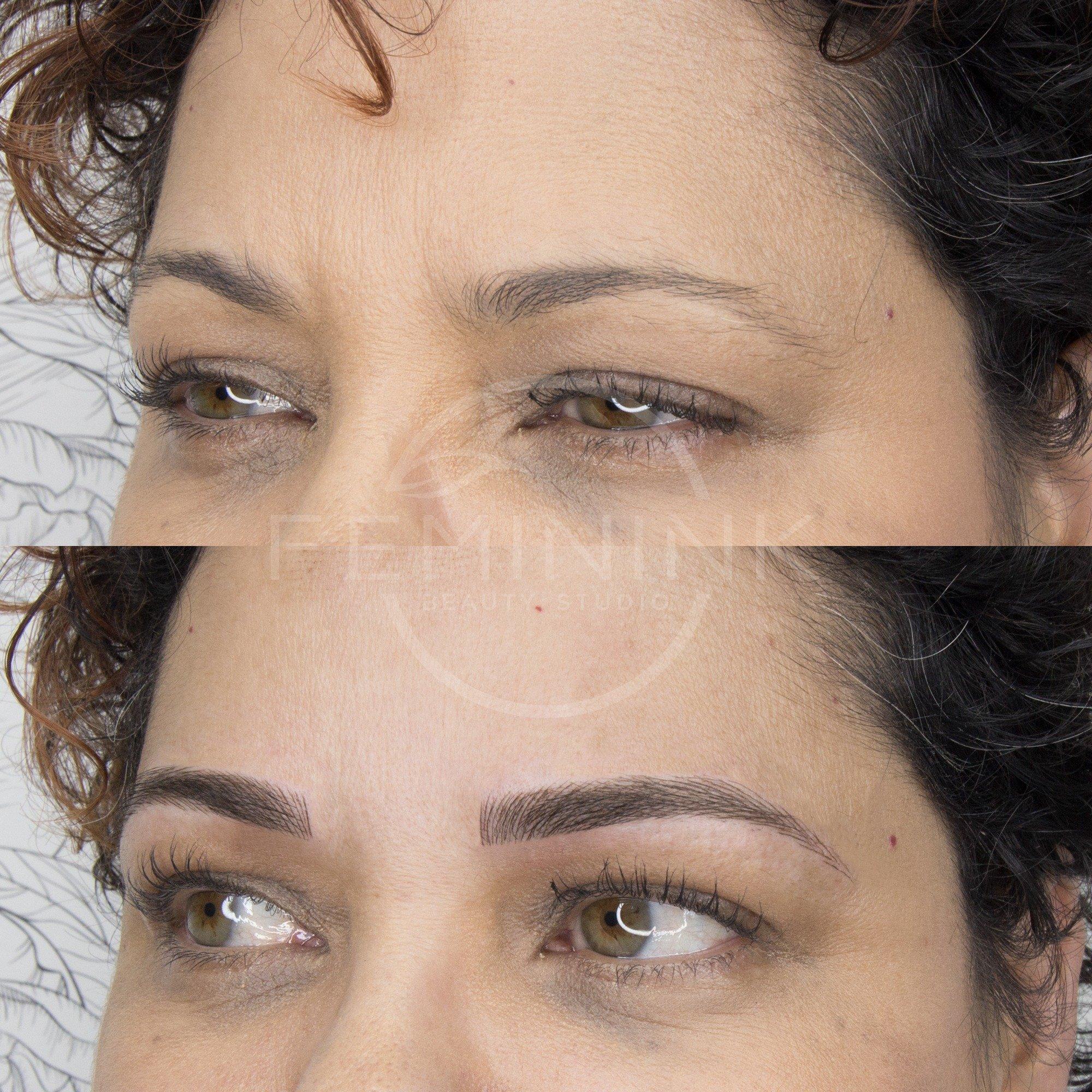 Semi Permanent Eyebrow Solutions - Feminink Beauty Studio, Montclair, NJ